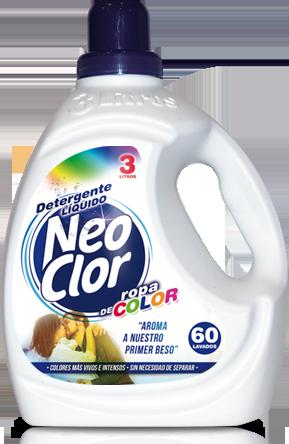 Detergente Líq. Lavad. NEOCLOR 'Color'