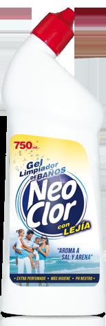 """Gel Limpiador Baños """"Con Lejía"""""""