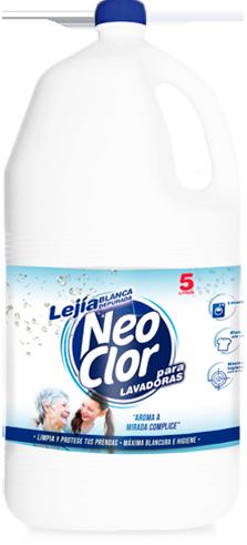 Lejía Neoclor Blanca 5L